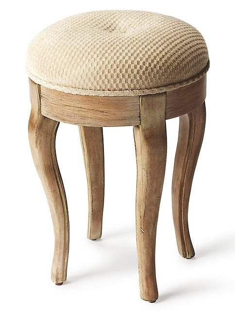 Butler Specialty Company Simone Driftwood Vanity Stool