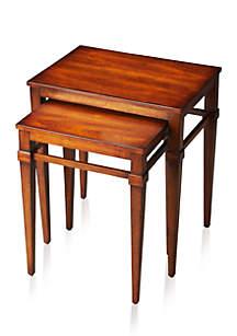 Nolan Antique Cherry Nest of Tables
