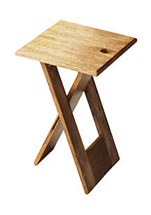 Butler Specialty Company Hammond Natural Wood Folding Table