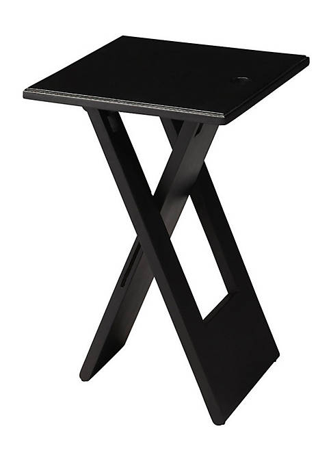 Butler Specialty Company Hammond Black Folding Table
