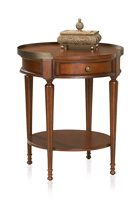 Sampson Plantation Cherry Accent Table