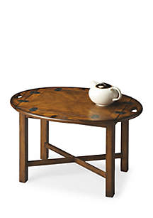 Carlisle Vintage Oak Butler Table