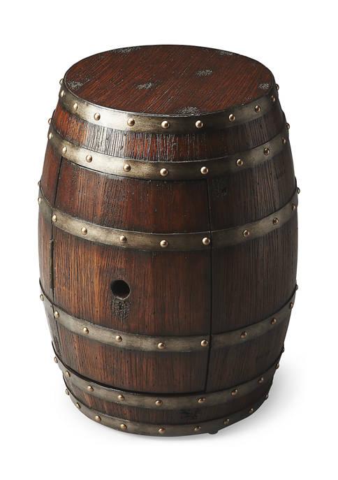 Butler Specialty Company Calumet Rustic Barrel Table