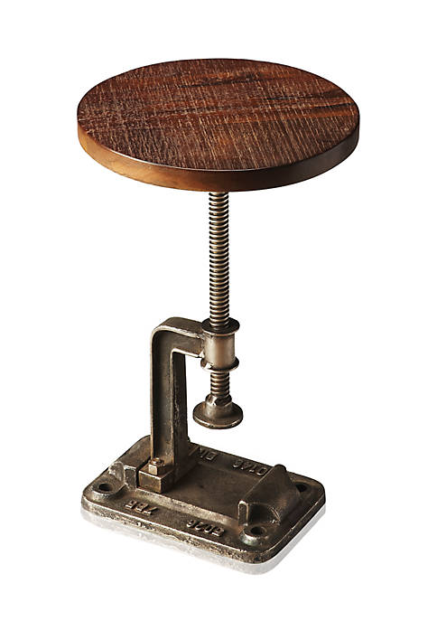 Ellis Industrial Chic Accent Table