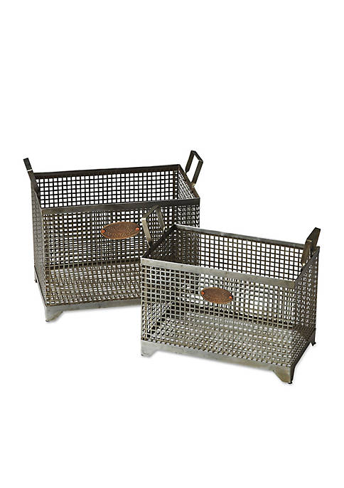 Butler Specialty Company Rowley Iron Storage Basket Set