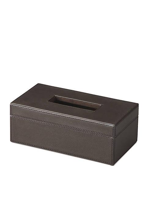 Lido Leather Tissue Box