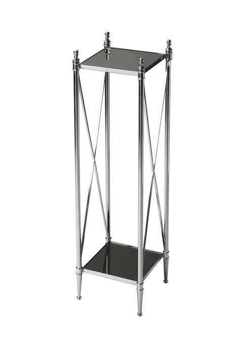 Butler Specialty Company Deidre Glass & Metal Pedestal