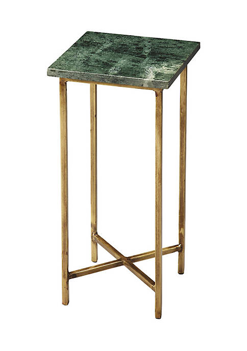 Butler Specialty Company Versilia Green Marble Scatter Table