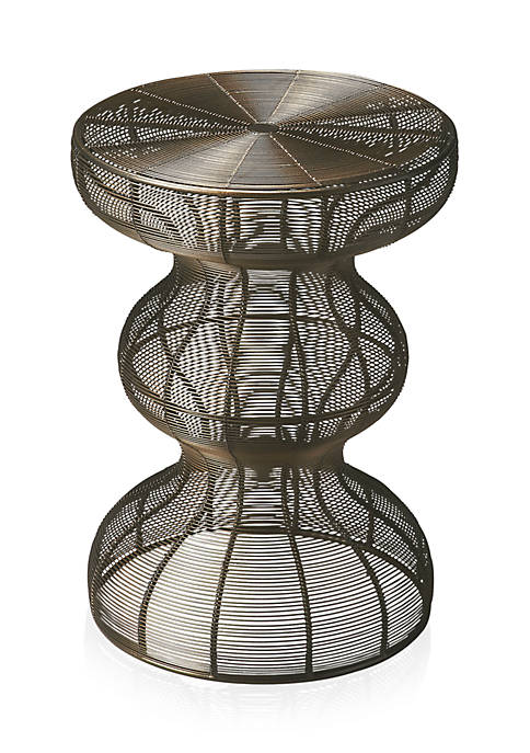 Angeline Wire Accent Table