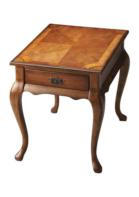 Butler Specialty Company Grace Ash Burl End Table