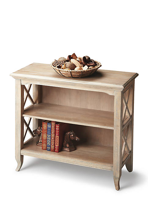 Butler Specialty Company Newport Driftwood Low Bookcase