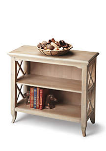 Newport Driftwood Low Bookcase