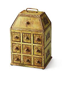 Celadon Solid Wood Jewelry Case