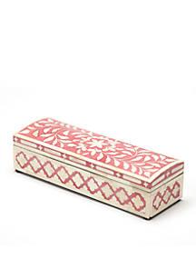 Butler Specialty Company Amanda Rose Bone Inlay Storage Box