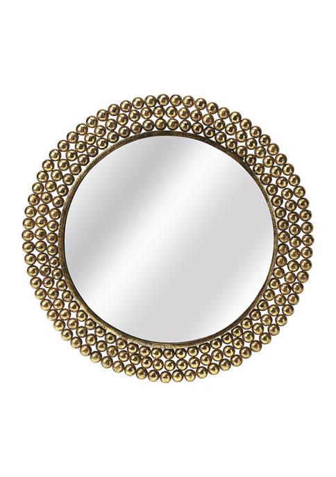Butler Specialty Company Tiny Bubbles Antique Gold Mirror