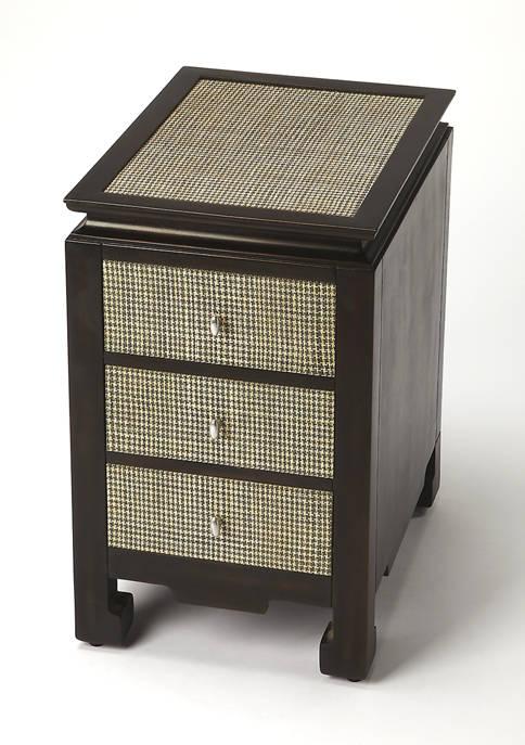Butler Specialty Company Boracay Raffia Chairside Table