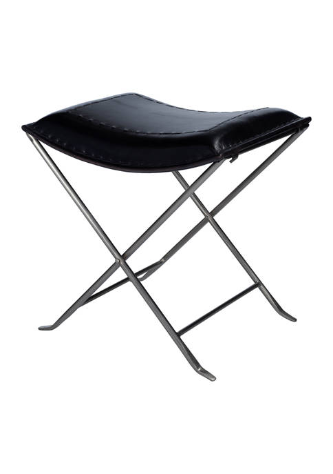 Butler Specialty Company Melton Leather Stool