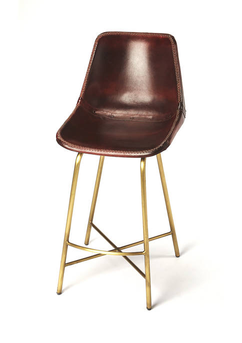 Butler Specialty Company Commercial Leather Bar Stool