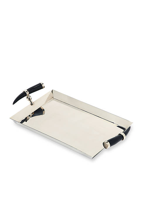 Vito Stainless Steel Rectangular Serving Tray
