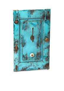 Butler Specialty Company Neely Rustic Blue Wall Mount Hook Rack
