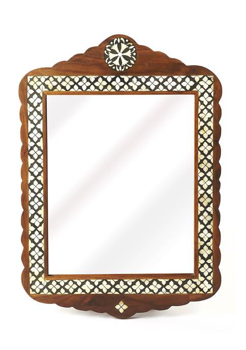 Butler Specialty Company Gabby Bone Inlay Wall Mirror