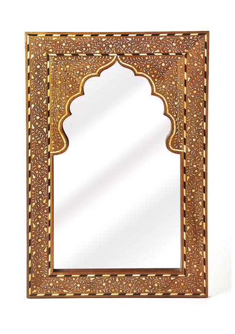 Butler Specialty Company Chevrier Bone Inlay Wall Mirror