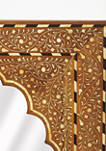 Chevrier Bone Inlay Wall Mirror