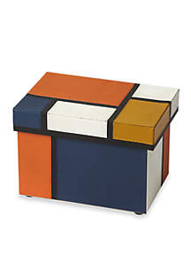 Butler Specialty Company Mosaic Leather Storage Box