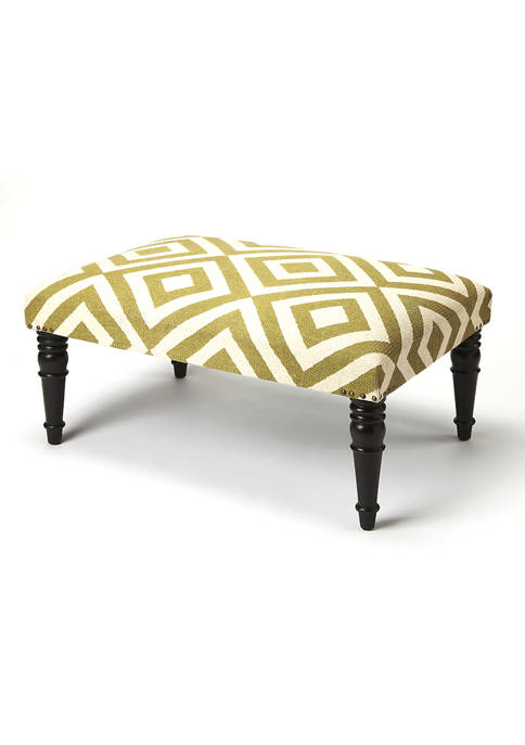 Butler Specialty Company Lucinda Diamond Upholstered Cocktail