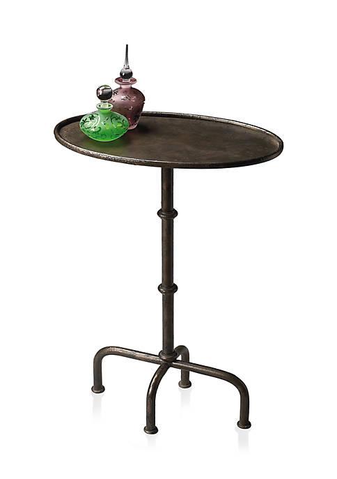 Kira Metal Pedestal Table