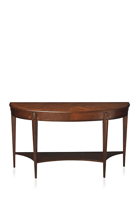 Butler Specialty Company Astor Nutmeg Demilune Console Table