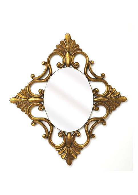 Calais Gold Wall Mirror