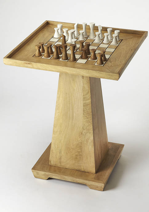Levon Natural Game Table