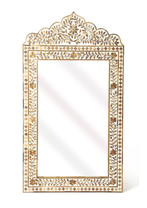 Butler Specialty Company Vivienne Bone Inlay Mirror