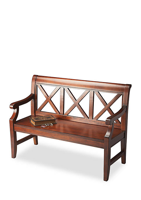 Butler Specialty Company Gerrit Plantation Cherry Bench