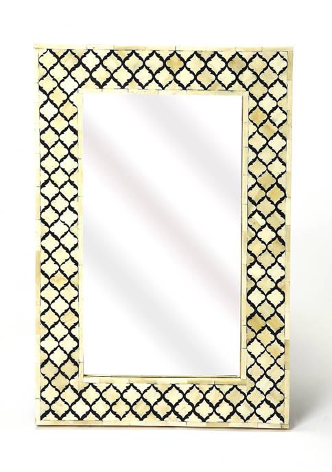 Yasmin Bone Inlay Wall Mirror