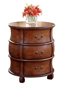 Bentley Plantation Cherry Barrel Table