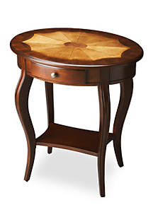 Butler Specialty Company Jeanette Plantation Cherry Oval Accent Table