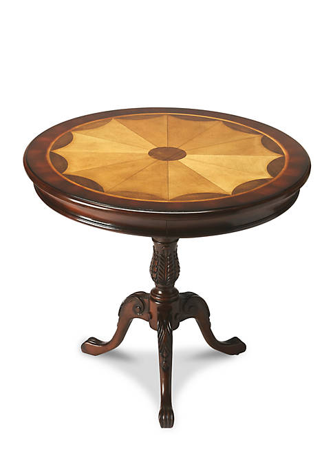 Butler Specialty Company Carissa Plantation Cherry Round Pedestal