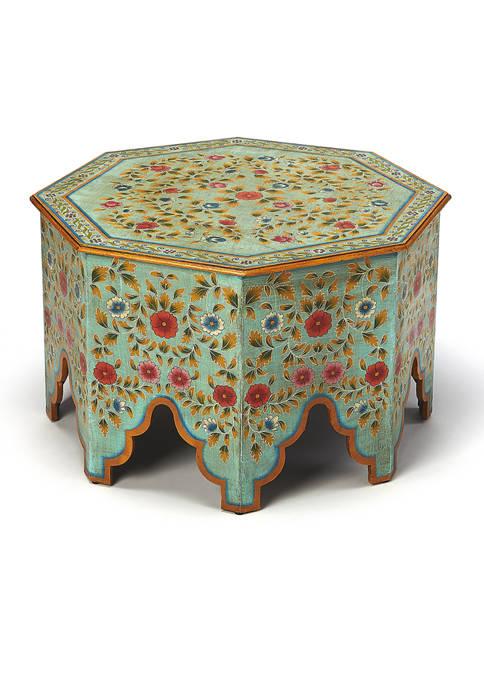 Priya Hand Painted Coffee Table