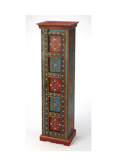 Butler Specialty Company Amir Hand Painted Tall Cabinet