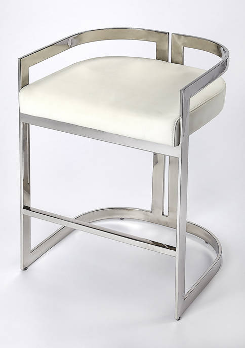 Butler Specialty Company Bravo Faux Leather Counter Stool