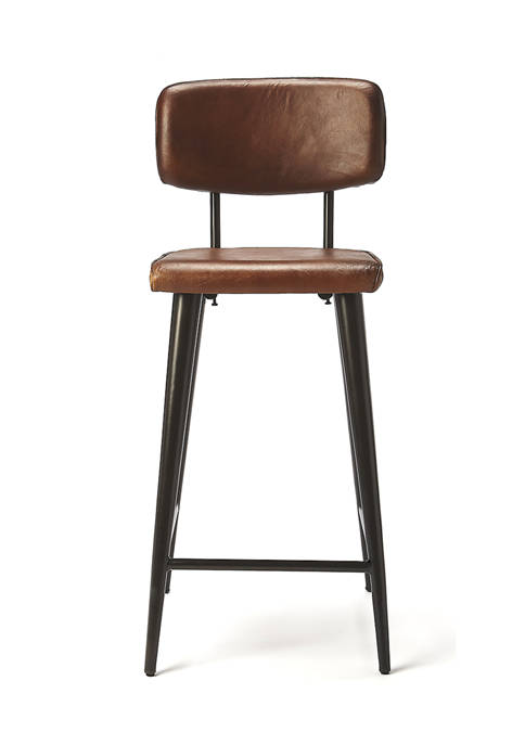 Butler Specialty Company Saddle Leather Counter Stool