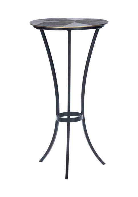 Butler Specialty Company Gaston Round Metal End Table