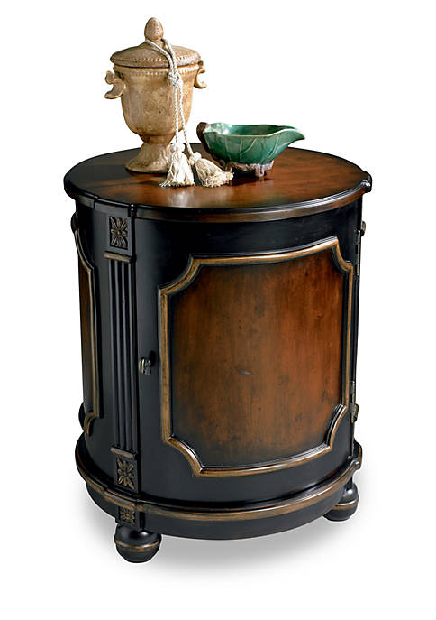 Butler Specialty Company Thurmond Cafe Noir Drum Table
