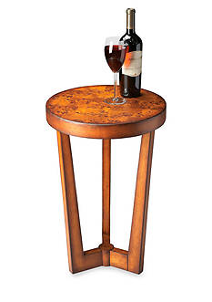Butler Specialty Company Aphra Olive Ash Burl Accent Table