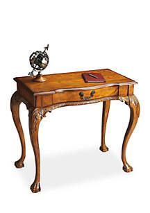 Dupree Vintage Oak Writing Desk