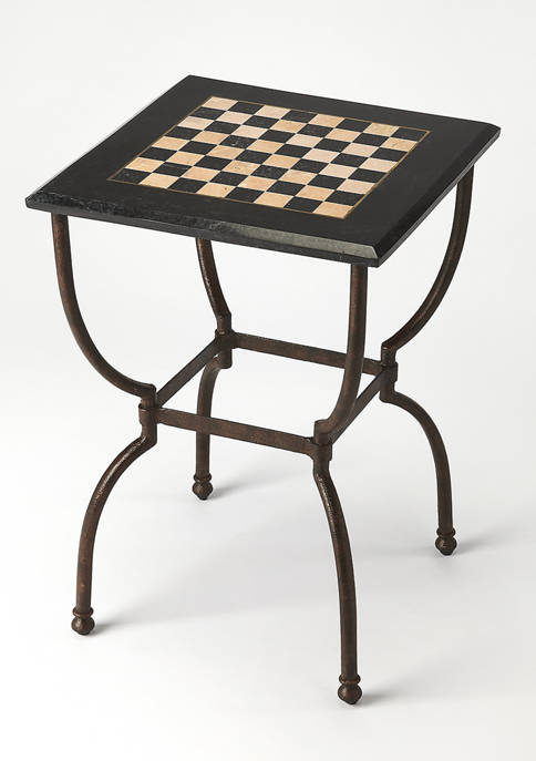 Butler Specialty Company Frankie Fossil Stone Game Table