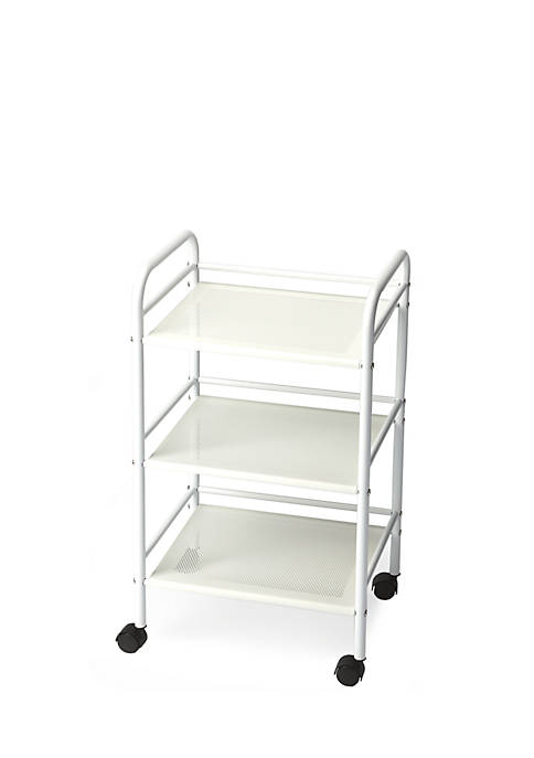 Butler Specialty Company Concord White Serving Cart
