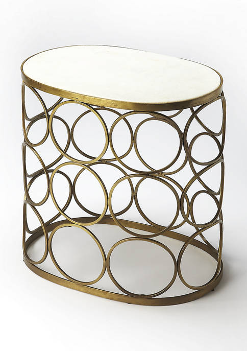 Butler Specialty Company Talulah Oval Marble Accent Table